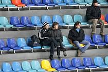 Hlediště hradeckého zimního stadionu. Ilustrační fotografie.