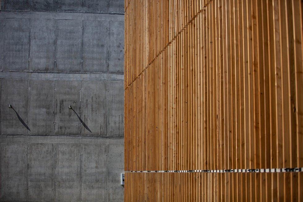 Otevření nového parkovacího domu Jana Gayera.