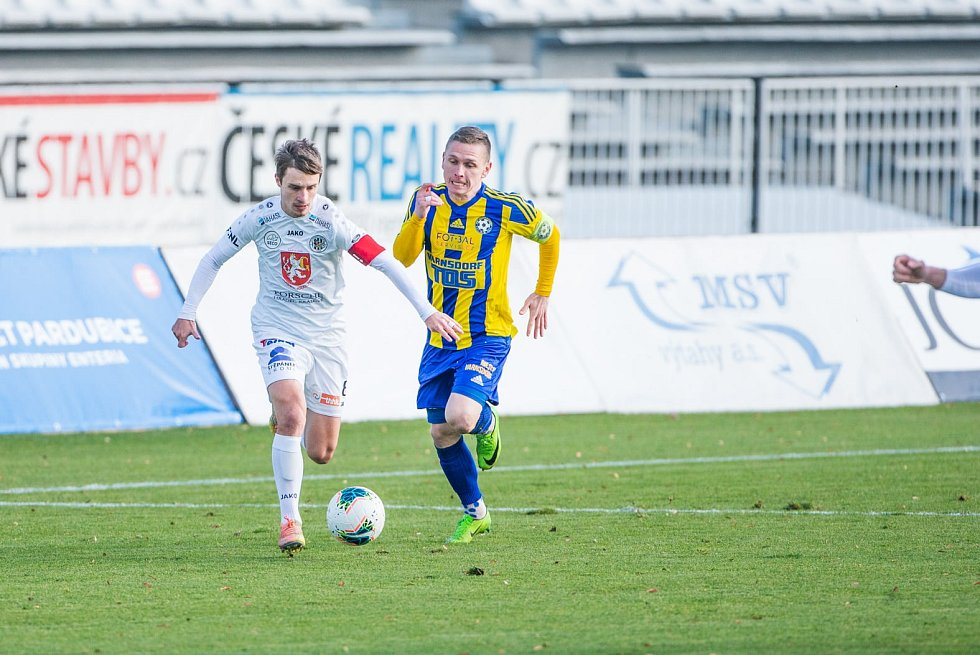 Fotbalová FORTUNA:NÁRODNÍ LIGA: FC Hradec Králové - FK Varnsdorf.