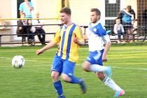 Fotbalový Gist pohár OFS Hradec Králové: TJ Sokol Stěžery - TJ Slavoj Skřivany.