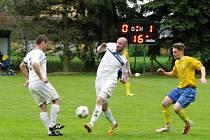 Krajská fotbalová I. A třída: TJ Sokol Roudnice - SK Sobotka.