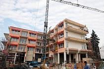 Přestavba domova důchodců v Černožicích.