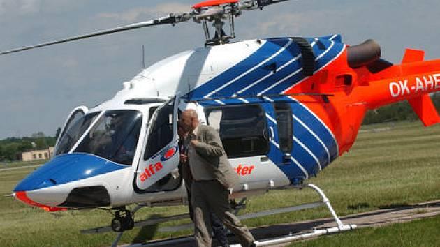 Ministr Tomáš Julínek na Helicopter show