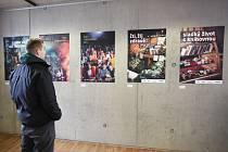 Výstava Narušený vzorec ve Studijní a vědecké knihovně v Hradci Králové.