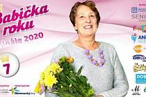 Paní Jaruška měla v soutěži Babička roku šťastnou sedmičku.