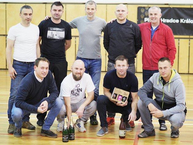 Vítězný celek halového turnaje - Severka.