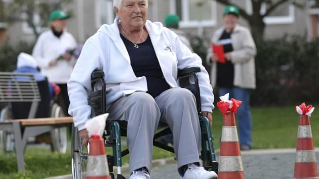 Sportovní hry seniorů v Hradci Králové.