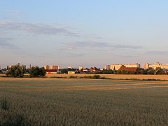 Pohled na místní část zvanou Temešvár, kde by v budoucnu mělo vzniknout asi čtyřicet rodinných domů.