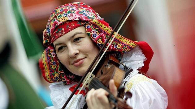 Folklorní festival. Ilustrační fofo.
