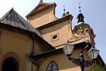 Chlumecký kostel sv. Voršily na Klicperově náměstí je v dezolátním stavu.