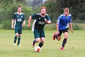 Okresní přebor ve fotbale: Červeněves - Cerekvice.
