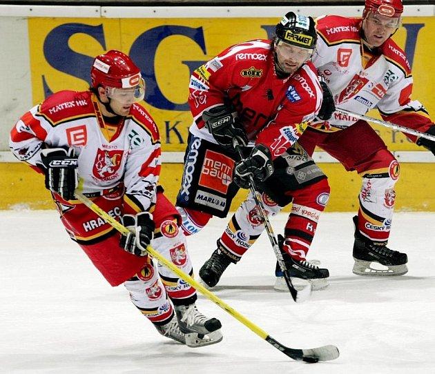 Derby HC VCES Hradec Králové - Chrudim v sobotu 11. prosince skončil 4 : 2