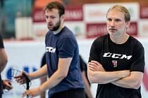 Letní příprava hokejistů Hradce Králové.