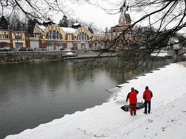 U elektrárny Hučák našli 5. ledna utonulého.