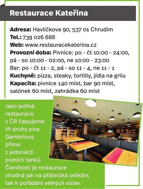 Restaurace Kateřina, Chrudim