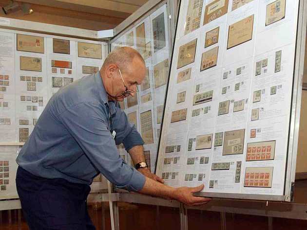 Připravovaná výstava známek