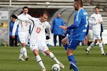 Fotbalová I. Gambrinus liga: FC Hradec Králové - FC Baník Ostrava.