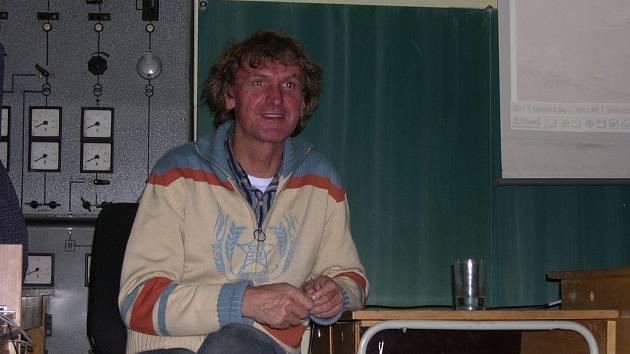 Jan Šibík besedoval se studenty
