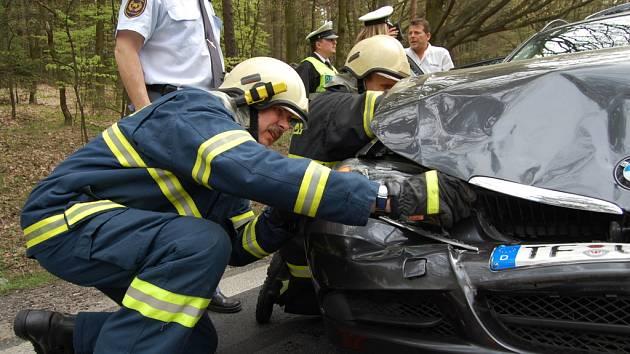 Dopravní nehoda u Koliby 29. dubna 2008