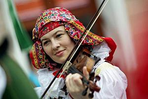 Folklorní festival. Ilustrační foto