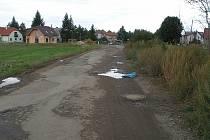 Začátek Jedličkovy dálnice.