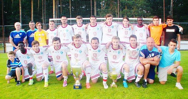 Fotbalový tým RMSK Cidlina Nový Bydžov.