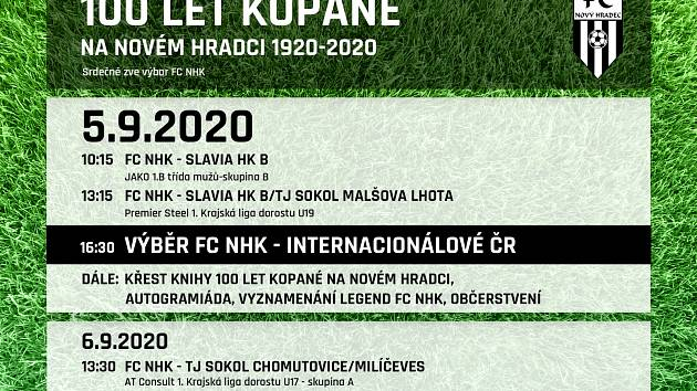 Nový Hradec Králové zve na oslavy 100 let!