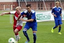 Krajský přebor ve fotbale: FC Slavia Hradec Králové - SK Libčany.