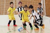 Nejmenší fotbalisté hráli svůj první turnaj.