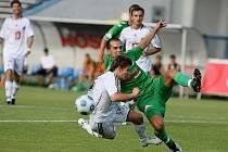FC Hradec Králové x FC Hlučín: Pilař Václav a Švrček Roman