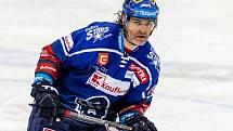 Legenda českého hokeje Jaromír Jágr, současná opora kladenských Rytířů.