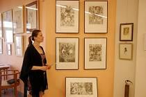 Z výstavy v královéhradecké galerii Koruna.