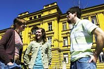 Mladí Amaričané v Hradci Králové