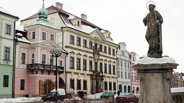 Biskupská rezidence v Hradci Králové.