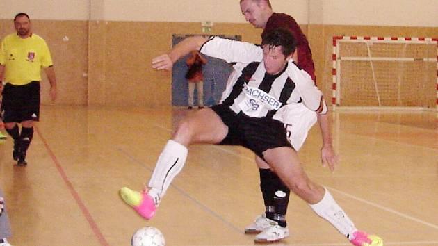 Chance Futsal Liga: Salamandr Hradec Králové - AC Sparta Praha.