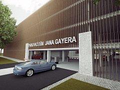 Nový parkovací dům vznikne v místě současné veterinární ambulance.