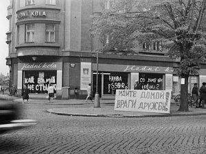 Srpen 1968 v Hradci Králové.