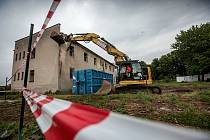 Zahájení prací na stavbě domu Odlehčovací služby Honkova.