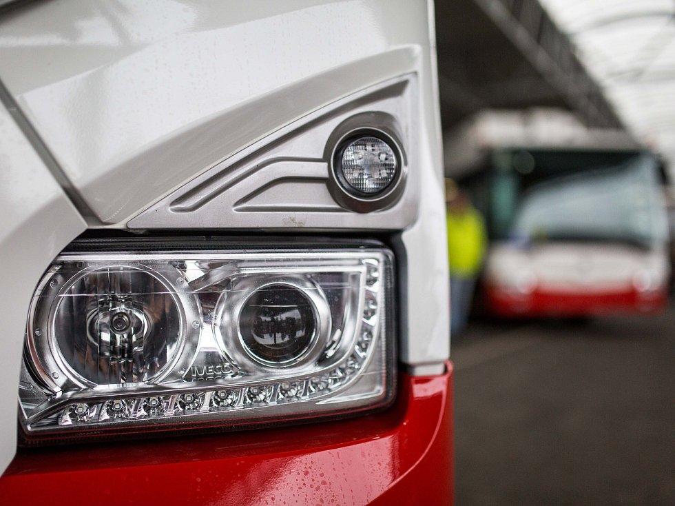 Nové vozy hradeckého dopravního podniku.
