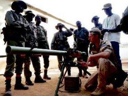 Čeští vojáci v Mali.