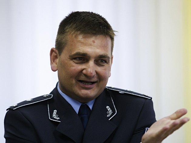 Krajský policejní ředitel v Královéhradeckém kraji Martin Červíček.
