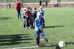 Děti na akci Můj první gól.