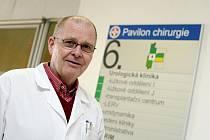 Vedoucí lékař transplantačního centra Fakultní nemocnice Hradec Králové Pavel Navrátil.