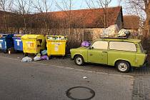 Obyvatelé Nového Hradce Králové berou třídění (plastového) odpadu vážně.