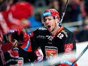 5. semifinále hokejové extraligy Hradec Králové -  Třinec (3:2 pp).