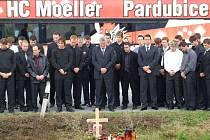 Pardubičtí hokejisté uctili památku Martina Čecha