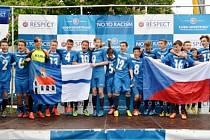 Fotbaloví starší žáci RMSK Cidlina Nový Bydžov / FK Chlumec nad Cidlinou.