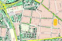Pasport zeleně funguje v Hradci už několik let. Na mapě zobrazuje stromy jako body. Keře, květinové záhony a trávníky zase jako plochy.