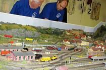 Výstava železničních modelů v Hradci Králové.