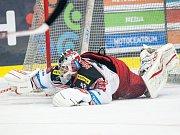 Generali play off hokejové Tipsport extraligy: Mountfield HK - HC Verva Litvínov.